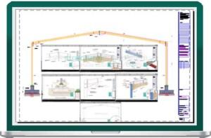 Complete Single Span Hangar Portal Frame Design Details