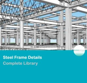 Complete Steel Frame Details Library Collection