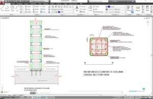 Strengthening of Reinforced Concrete Column with Steel Jacketing