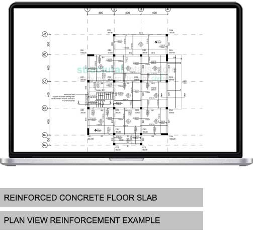 Concrete Floor Slab Reinforcement Example