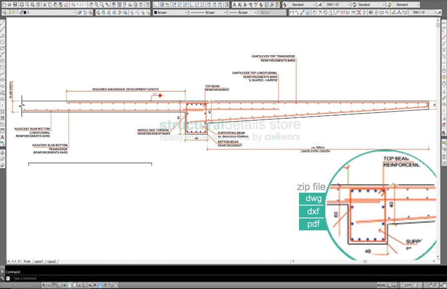Rcc Beam Detailing : Reinforced concrete nonconstant alternating width