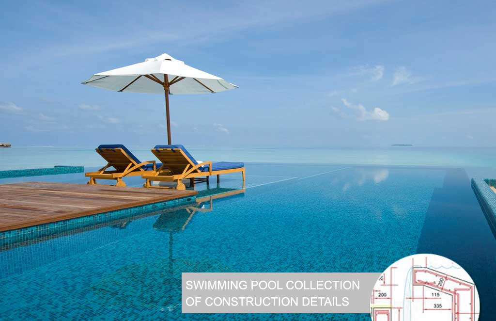 Swimming Pool Collection of Construction Details