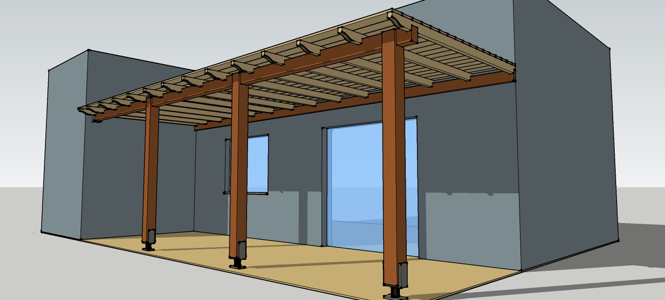 Simple Timber Pergola Complete Solution Details For