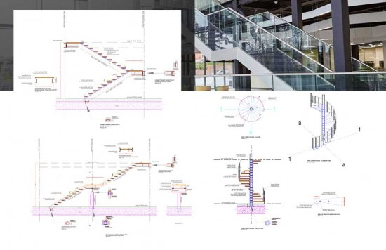 Steel Stairs Bundled Complete Set of Details