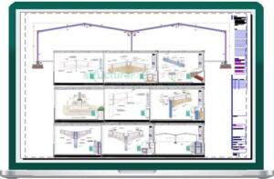 Complete Double Span Hangar Portal Frame Design Details