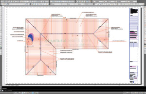 Pseudo Timber Roof On Concrete Slab Framing Plan View