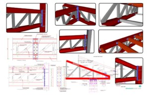 Steel Trusses Complete Set of Details